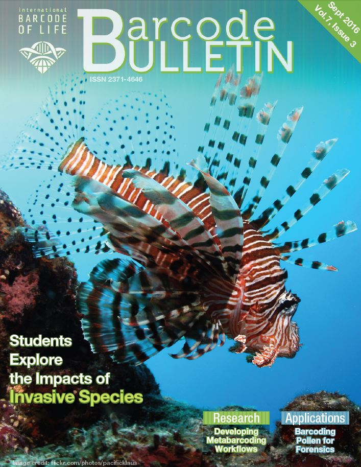 September 2016 Bulletin Title Page