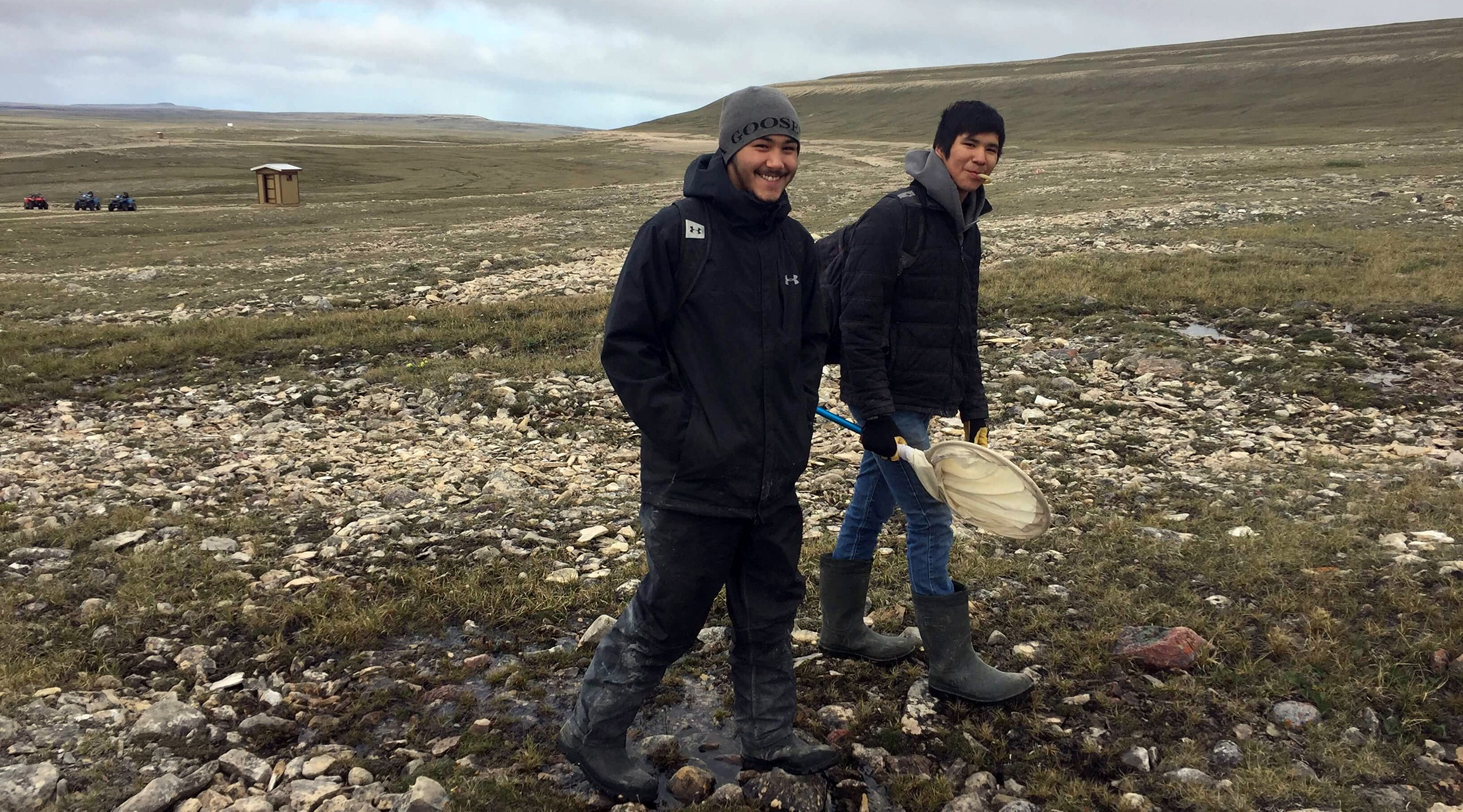 Field work in the Canadian Arctic for BIOSCAN-Canada